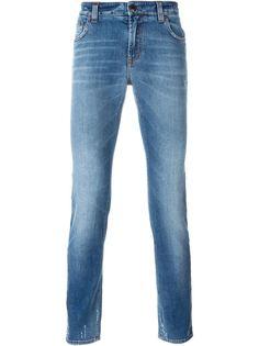 джинсы кроя слим   Etro