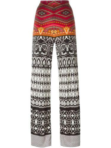 брюки прямого кроя с принтом Etro