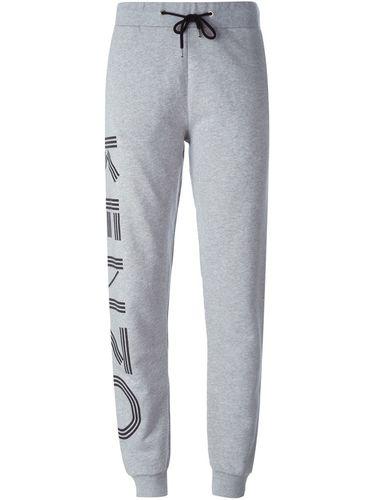 спортивные брюки с принтом-логотипом Kenzo