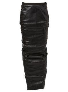 юбка макси Rick Owens