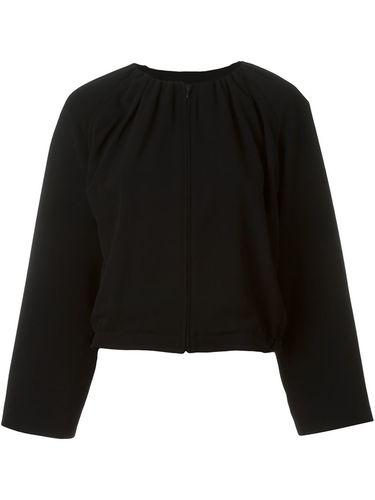 пиджак с присборенной горловиной Giorgio Armani Vintage