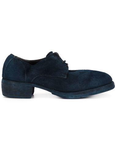 замшевые туфли-дерби Guidi