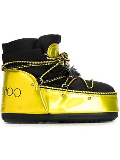 зимние сапоги Jimmy Choo x Moon Boot Moon Boot