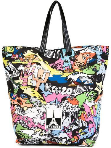 сумка-тоут 'Cartoon' Kenzo