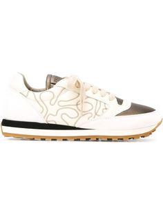 кроссовки с вышивкой Brunello Cucinelli