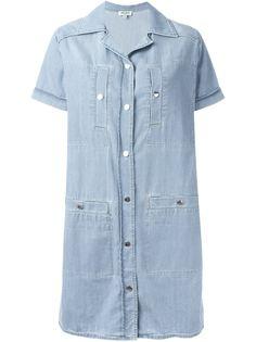 джинсовое платье  Kenzo