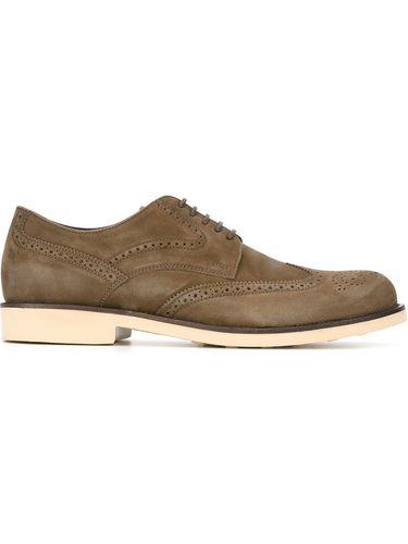 туфли-броги на резиновой подошве Tod's