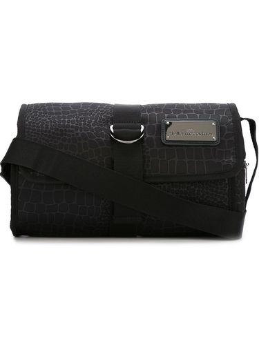 сумка-пояс с эффектом крокодиловой кожи  Adidas By Stella Mccartney