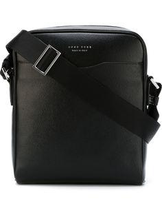 сумка-почтальонка 'Signature NS Zip' Boss Hugo Boss