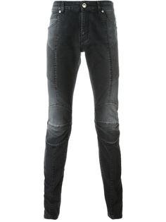 байкерские джинсы  Pierre Balmain