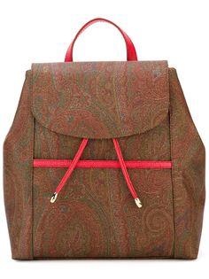 рюкзак с принтом пейсли Etro
