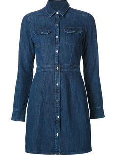 джинсовое платье-рубашка Rag & Bone /Jean