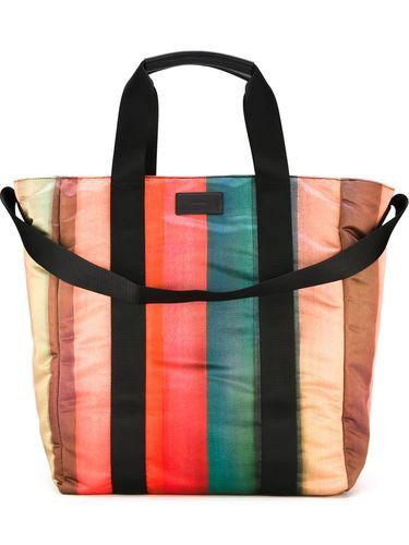 полосатая сумка-тоут Paul Smith