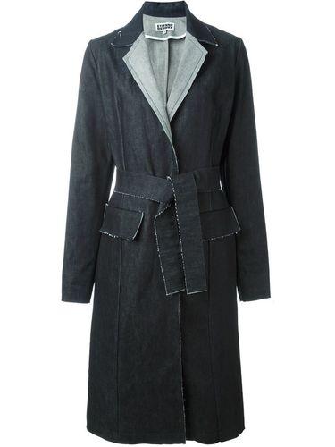 джинсовое пальто  Etienne Deroeux