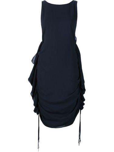 side ruffle dress Audra