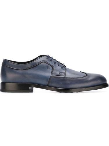 туфли на шнуровке  Tod's