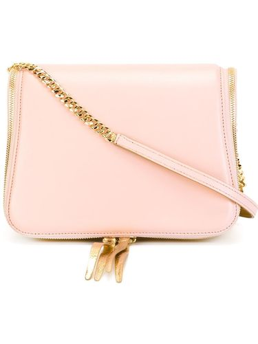 zip trim shoulder bag The Volon