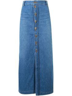 джинсовая юбка  Fabiane Roux