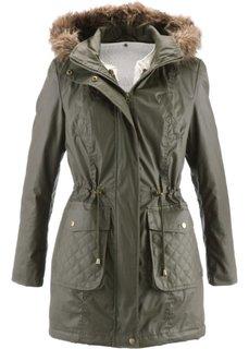 Куртка-парка 2 в 1 (черный) Bonprix