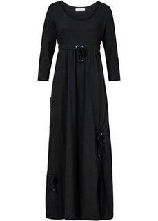 Трикотажное платье с рукавом 3/4 (кленово-красный) Bonprix