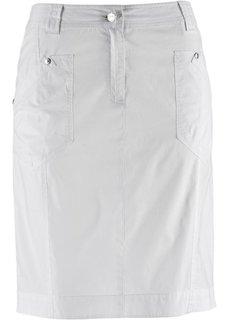 Вельветовая юбка-стретч (темно-синий) Bonprix
