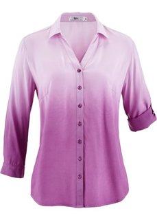 Блузка деграде (бирюзовый) Bonprix