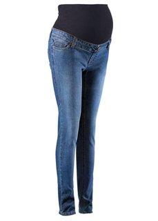 Мода для будущих мам: джинсы-скинни (серый деним) Bonprix