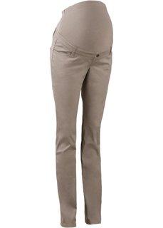 Мода для беременных: брюки с узкими брючинами, cредний рост (N) (черный) Bonprix