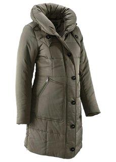 Для будущих мам: стеганая куртка (темно-синий) Bonprix