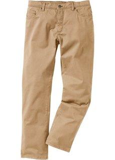 Брюки-стретч Slim Fit, низкий + высокий рост (U + S) (дымчато-серый) Bonprix