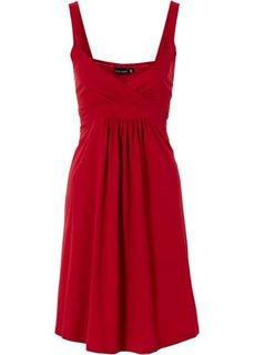 Трикотажное платье (коричневый с узором) Bonprix