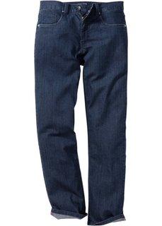 Джинсы-стретч Regular Fit Straight, низкий + высокий рост (U + S) (светло-серый) Bonprix