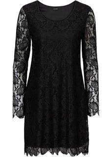 Кружевное платье (лиловая фиалка) Bonprix
