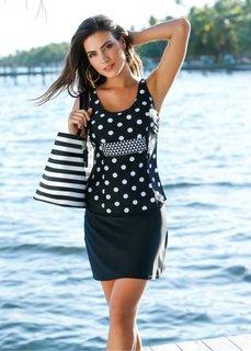 Купальная юбка с плавками (черный) Bonprix