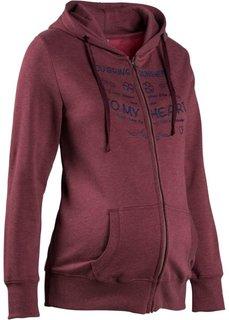 Мода для беременных: свитшот (дымчато-розовый с рисунком) Bonprix