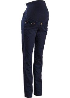 Мода для беременных: стройнящие брюки-стретч с прямыми брючинами (черный) Bonprix