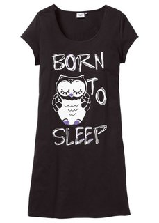 Ночная рубашка (синий с рисунком) Bonprix