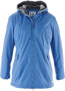 Удлиненная куртка на межсезонье (темно-синий) Bonprix