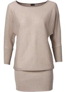 Люрексовый пуловер (серебристый) Bonprix