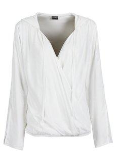 Блузка с капюшоном (ярко-желтый) Bonprix