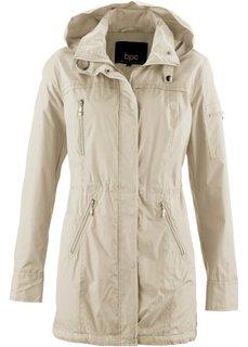 Куртка-парка на легкой подкладке (лазурный) Bonprix