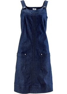 Джинсовое платье-стретч (синий «потертый») Bonprix