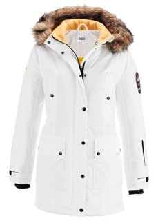 Функциональная куртка с капюшоном (серо-синий) Bonprix