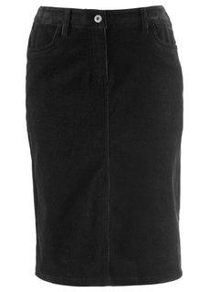 Вельветовая юбка (темно-оливковый) Bonprix