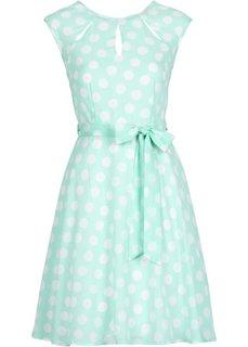Платье в горошек (темно-синий/белый в горошек) Bonprix