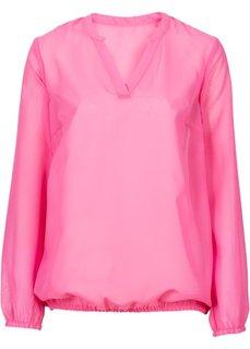 Блузка (розовый с рисунком) Bonprix