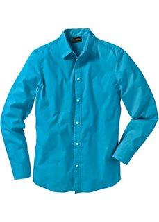 Рубашка-стретч (черный) Bonprix