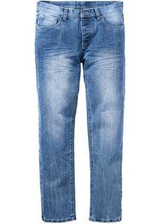 Джинсы Regular Fit Straight, длина (в дюймах) 34 (синий «потертый») Bonprix