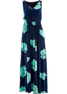 Платье (синий ментол/темно-синий с узо) Bonprix