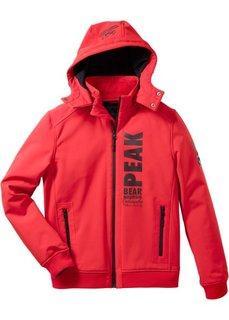 Куртка-софтшелл Regular Fit (черный) Bonprix